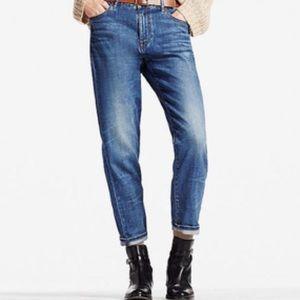 Uniqlo slim fit boyfriend ankle jeans